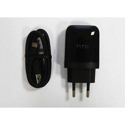 Сетевое зарядное устройство + кабель microUSB, 1.67A (HTC TC P1000)
