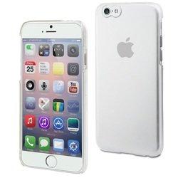 Чехол-накладка для Apple iPhone 6, 6s (Muvit Crystal Case MUCRY0030) (прозрачный)