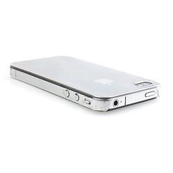 Накладка на заднюю крышку для iPhone 4 / 4S (прозрачный)