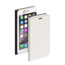 �����-������ ��� apple iphone 6 (deppa wallet cover 84063) (�����) + �������� ������