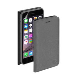 ��������� �����-������ ��� apple iphone 6 (deppa wallet cover 84064) (�����) + �������� ������