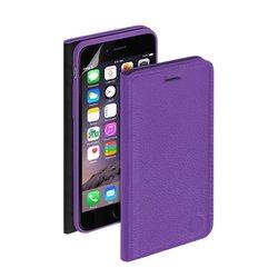 Чехол-книжка для Apple iPhone 6, 6s + защитная пленка (Deppa Wallet Cover 84066) (фиолетовый)