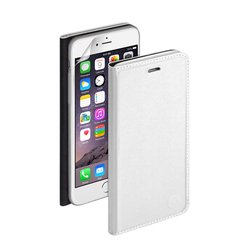 �����-������ ��� apple iphone 6 (deppa wallet cover pu 84068) (�����) + �������� ������