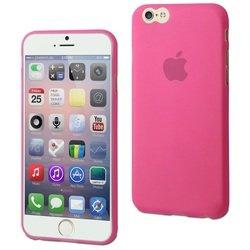 Чехол-накладка для Apple iPhone 6, 6s (Muvit Thingel Case MUSKI0324) (розовый)