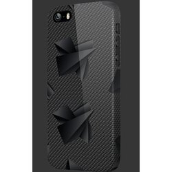 "чехол-накладка для apple iphone 6, 6s 4.7"" (oxo carbon cover case ultimate xcoip64kault6) (черный)"