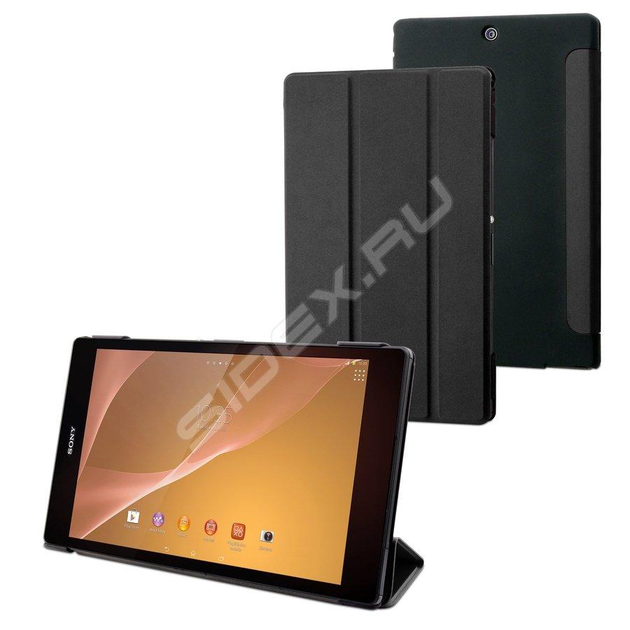 Чехол Sony Xperia C5 Ultra Cojess Ultra Slim Экокожа Флотер Black