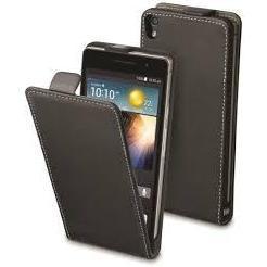 Чехол-флип для Huawei Ascend P7 (Muvit Slim Case MUSLI0500) (черный)