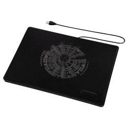 """Охлаждающая подставка для ноутбука до 17"""" (Hama Slim Black 53067) (черный)"""