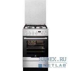 Плита Комбинированная Electrolux EKK954505X серебристый