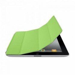 Кожаный чехол-книжка для Apple iPad 3 new (Lether Smart Cover) (зеленый)