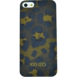 чехол-накладка для apple iphone 5c kenzo leopard cover (хаки)