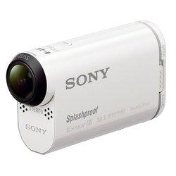 Видеокамера Sony HDR-AS100VB + набор креплений + впитывающая вставка (белый)