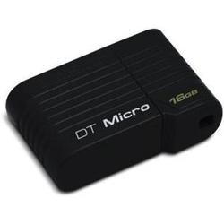 kingston datatraveler micro 16gb (черный)