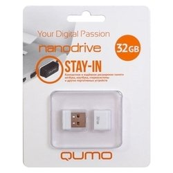 Qumo nanoDrive 32Gb (белый)