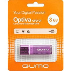 Qumo Optiva OFD-01 8Gb (фиолетовый)