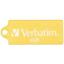 Verbatim Micro USB Drive 4GB (Жёлтый)
