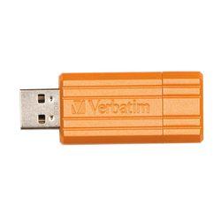 Verbatim Store 'n' Go PinStripe 8GB (Оранжевый)