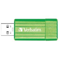 Verbatim Store 'n' Go PinStripe 4GB (Зелёный)