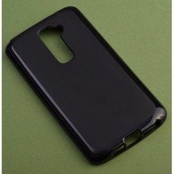 Силиконовый чехол-накладка для LG G2 D802 (R0005867) (черный)