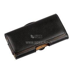 """Универсальный чехол-сумка для смартфонов до 4"""" (R0006064) (черный)"""
