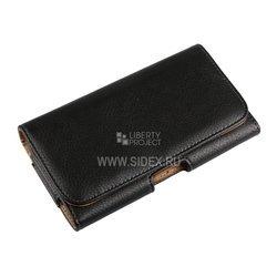 """Универсальный чехол-сумка для смартфонов до 5.7"""" (R0006066) (черный)"""