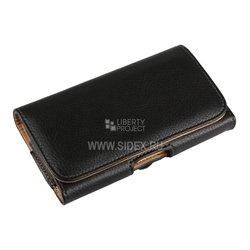 """Универсальный чехол-сумка для смартфонов до 5"""" (R0006065) (черный)"""
