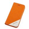 Чехол-книжка для Apple iPhone 6, 6s 4.7 (Ogden Sparkle R0007299) (оранжевый) - Чехол для телефонаЧехлы для мобильных телефонов<br>Плотно облегает корпус и гарантирует надежную защиту от царапин и потертостей.<br>