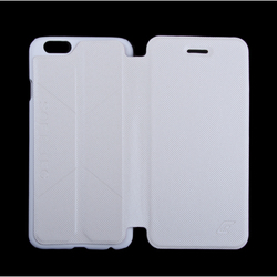 "чехол-книжка для apple iphone 6, 6s 4.7"" (element case soft-tec r0007152) (белый)"