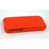 Чехол-флип для Apple iPhone 5, 5S, SE (CD125817) (кожа, оранжевый) - Чехол для телефонаЧехлы для мобильных телефонов<br>Плотно облегает корпус и гарантирует надежную защиту от царапин и потертостей.<br>