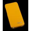 Кожаный чехол-флип для Apple iPhone 5C (R0000586) (желтый) - Чехол для телефонаЧехлы для мобильных телефонов<br>Чехол защищает Ваше устройство от грязи, пыли, брызг и других нежелательных внешних повреждений.<br>
