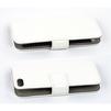 Чехол-книжка для Apple iPhone 5, 5S, SE (CD126266) (белый) - Чехол для телефонаЧехлы для мобильных телефонов<br>Чехол защищает Ваше устройство от грязи, пыли, брызг и других нежелательных внешних повреждений.<br>