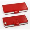 Чехол-книжка для Apple iPhone 5, 5S, SE (CD126267) (красный) - Чехол для телефонаЧехлы для мобильных телефонов<br>Чехол защищает Ваше устройство от грязи, пыли, брызг и других нежелательных внешних повреждений.<br>