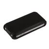 Чехол-флип для Apple iPhone 4, 4S (R0006533) (черный) - Чехол для телефонаЧехлы для мобильных телефонов<br>Чехол защищает Ваше устройство от грязи, пыли, брызг и других нежелательных внешних повреждений.<br>