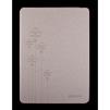 Чехол-книжка для Apple iPad Air 2 (RICH BOSS Flowers R0007228) (кожа, золотистый) - Чехол для планшетаЧехлы для планшетов<br>Плотно облегает корпус и гарантирует надежную защиту от царапин и потертостей.<br>