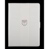 Чехол-книжка для Apple iPad Air 2 (R0007224) (кожа, белый, бежевая полоса) - Чехол для планшетаЧехлы для планшетов<br>Плотно облегает корпус и гарантирует надежную защиту от царапин и потертостей.<br>