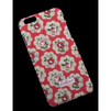 Чехол-накладка для Apple iPhone 6, 6s 4.7 (Liberti Project R0006650) (красный с красными  цветами) - Чехол для телефонаЧехлы для мобильных телефонов<br>Плотно облегает корпус и гарантирует надежную защиту от царапин и потертостей.<br>
