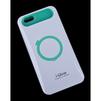 Чехол-накладка для Apple iPhone 6, 6s 4.7 (i-Glow R0007159) (белый, зеленый) - Чехол для телефонаЧехлы для мобильных телефонов<br>Чехол защищает Ваше устройство от грязи, пыли, брызг и других нежелательных внешних повреждений.<br>