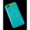 Чехол-накладка для Apple iPhone 6, 6s 4.7 (i-Glow R0007164) (бирюзовый, салатовый) - Чехол для телефонаЧехлы для мобильных телефонов<br>Чехол защищает Ваше устройство от грязи, пыли, брызг и других нежелательных внешних повреждений.<br>