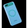 Чехол-накладка для Apple iPhone 6, 6s 4.7 (i-Glow R0007165) (голубой, салатовый) - Чехол для телефонаЧехлы для мобильных телефонов<br>Чехол защищает Ваше устройство от грязи, пыли, брызг и других нежелательных внешних повреждений.<br>