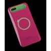 Чехол-накладка для Apple iPhone 6, 6s 4.7 (i-Glow R0007161) (красный, салатовый) - Чехол для телефонаЧехлы для мобильных телефонов<br>Чехол защищает Ваше устройство от грязи, пыли, брызг и других нежелательных внешних повреждений.<br>