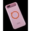 Чехол-накладка для Apple iPhone 6, 6s 4.7 (i-Glow R0007160) (розовый) - Чехол для телефонаЧехлы для мобильных телефонов<br>Чехол защищает Ваше устройство от грязи, пыли, брызг и других нежелательных внешних повреждений.<br>