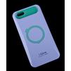 Чехол-накладка для Apple iPhone 6, 6s 4.7 (i-Glow R0007167) (сиреневый, зеленый) - Чехол для телефонаЧехлы для мобильных телефонов<br>Чехол защищает Ваше устройство от грязи, пыли, брызг и других нежелательных внешних повреждений.<br>