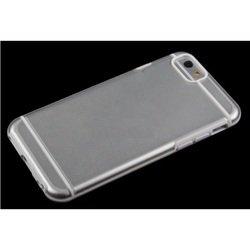 "Чехол-накладка для Apple iPhone 6, 6s 4.7"" (Liberti Project R0006697) (прозрачный, белый)"