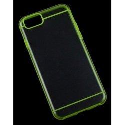 "Чехол-накладка для Apple iPhone 6, 6s 4.7"" (Liberti Project R0006698) (прозрачный, зеленый)"