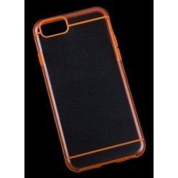 "Чехол-накладка для Apple iPhone 6, 6s 4.7"" (Liberti Project R0006701) (прозрачный, оранжевый)"