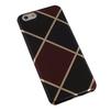 Чехол-накладка для Apple iPhone 6, 6s 4.7 (Macuus R0006105 Клетка большая) (черный, бордовый) - Чехол для телефонаЧехлы для мобильных телефонов<br>Чехол защищает Ваше устройство от грязи, пыли, брызг и других нежелательных внешних повреждений.<br>