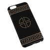 Чехол-накладка для Apple iPhone 6, 6s 4.7 (Macuus R0006107 Круг с крестом) (черный) - Чехол для телефонаЧехлы для мобильных телефонов<br>Чехол защищает Ваше устройство от грязи, пыли, брызг и других нежелательных внешних повреждений.<br>