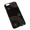 Чехол-накладка для Apple iPhone 6, 6s 4.7 (Macuus R0006111 Круги) (черный) - Чехол для телефонаЧехлы для мобильных телефонов<br>Чехол защищает Ваше устройство от грязи, пыли, брызг и других нежелательных внешних повреждений.<br>