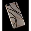 Чехол-накладка для Apple iPhone 6, 6s 4.7 (Macuus R0006324 Плавные линии) (золотистый) - Чехол для телефонаЧехлы для мобильных телефонов<br>Чехол защищает Ваше устройство от грязи, пыли, брызг и других нежелательных внешних повреждений.<br>