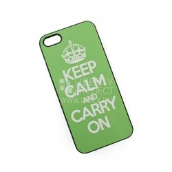 �����-�������� ��� apple iphone 5, 5s, se (keep calm and carry on) (�������)